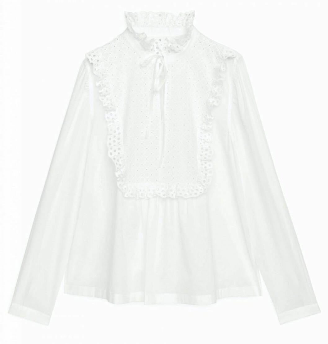 söt vit blus från Arket.
