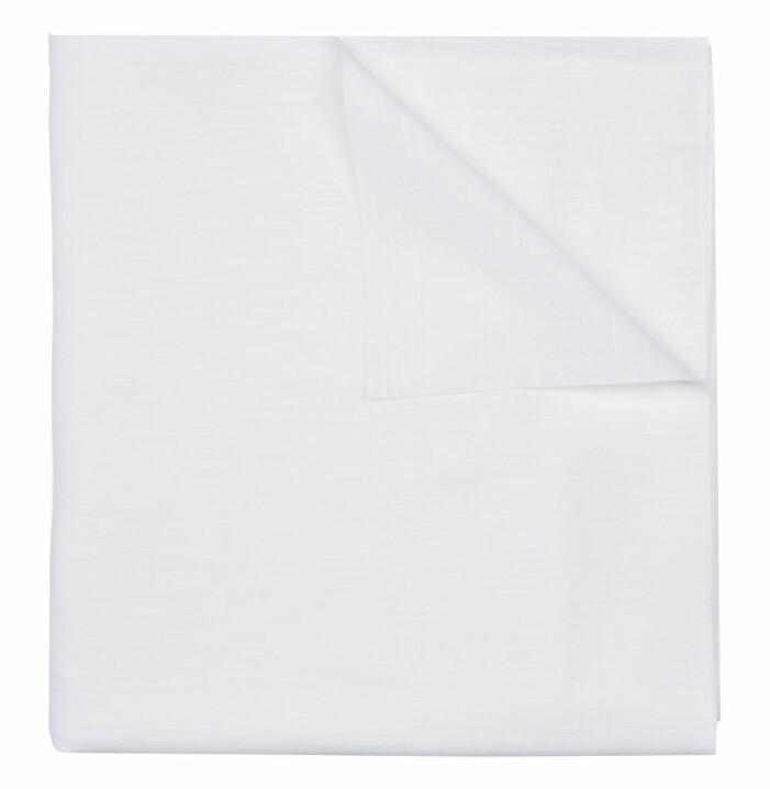 vit avtorkingsbar duk