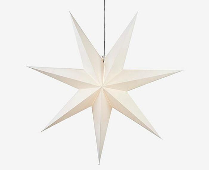 vit julstjärna från star trading