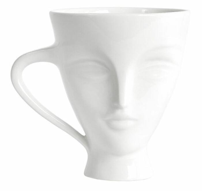 vit kaffekopp adler