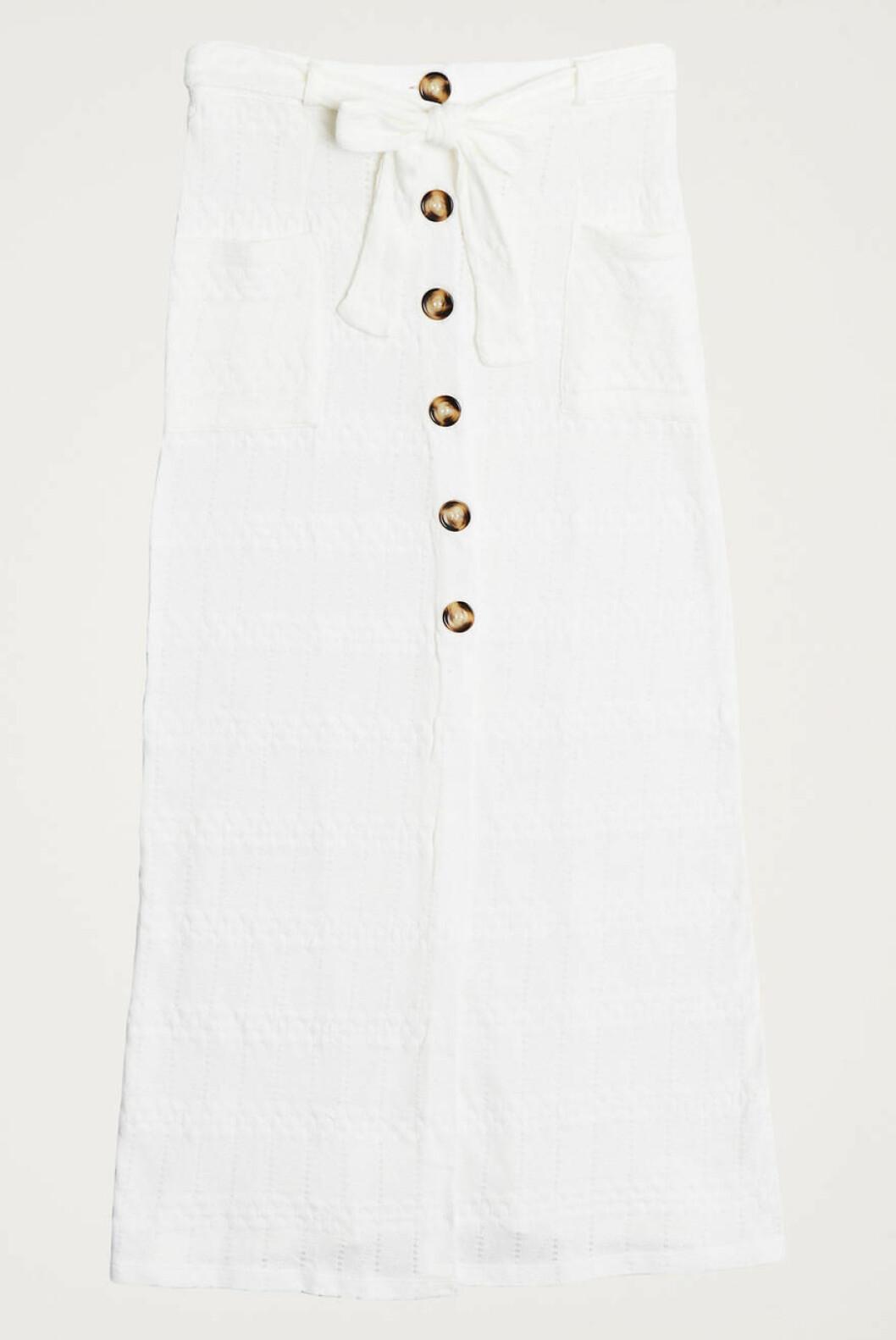 Vit kjol från Gina tricot