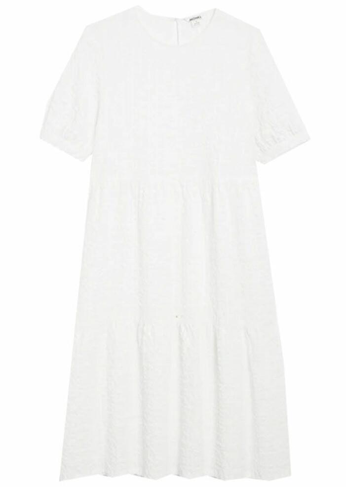 vit klänning monki