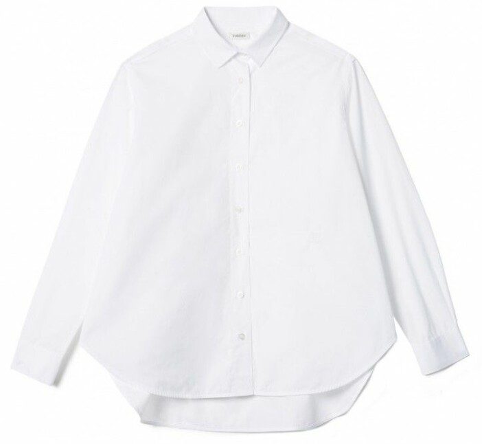 Vit klassisk skjorta från Totême