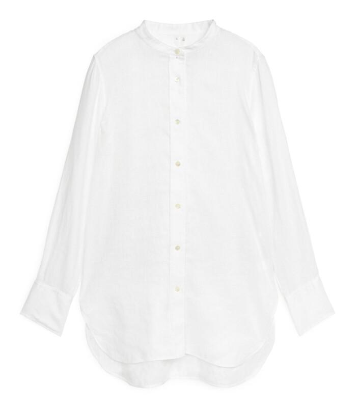 Vit linneskjorta från Arket