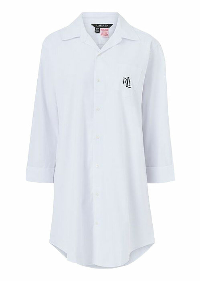 vit nattskjorta dam