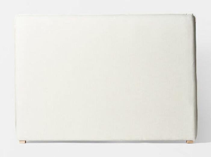 vit sänggavel från åhlens