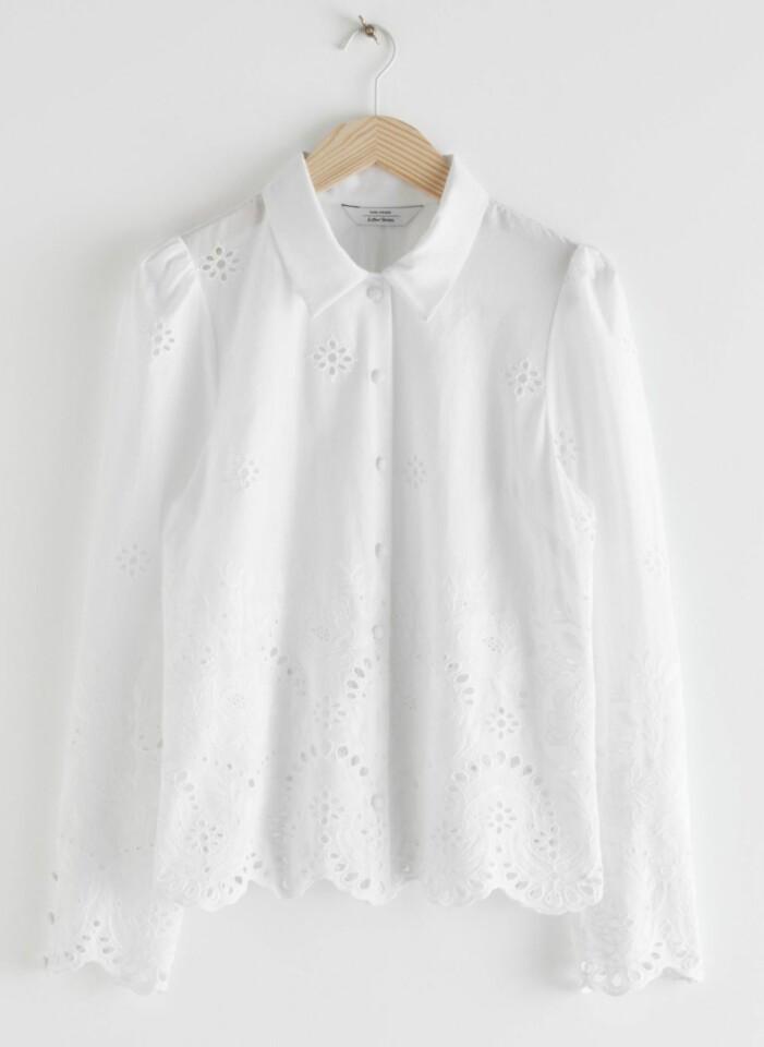 vit skjorta & other stories