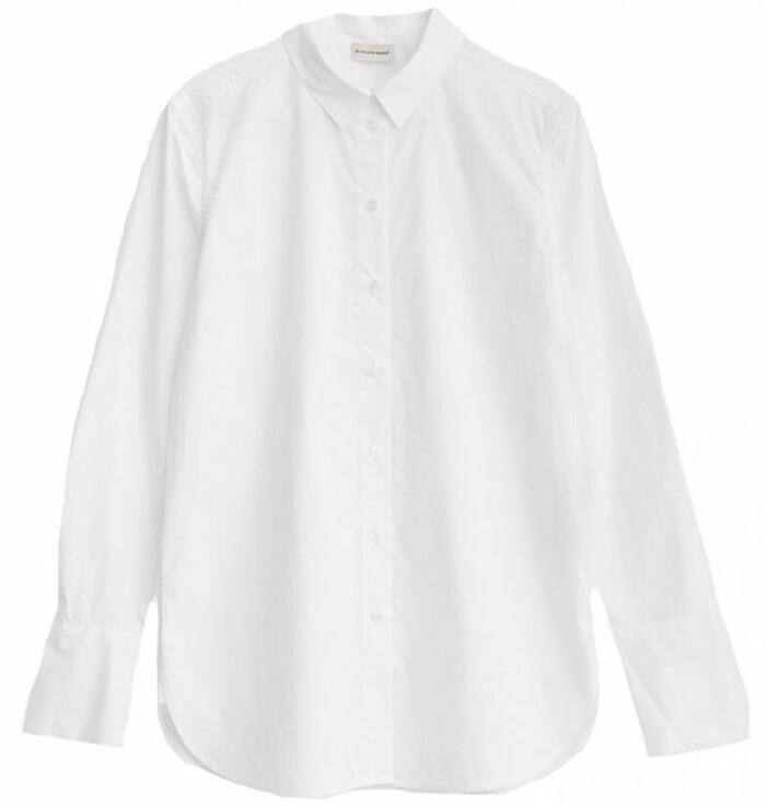vit skjorta malene birger