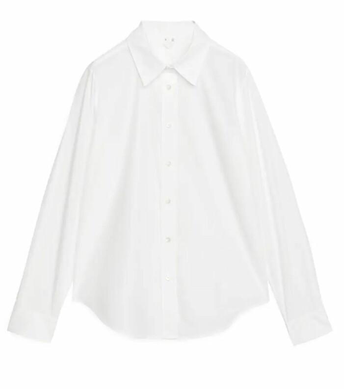 vit skjorta Arket