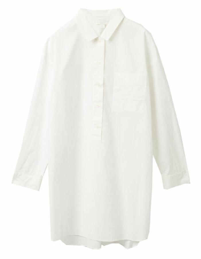 vit skjortklänning dam