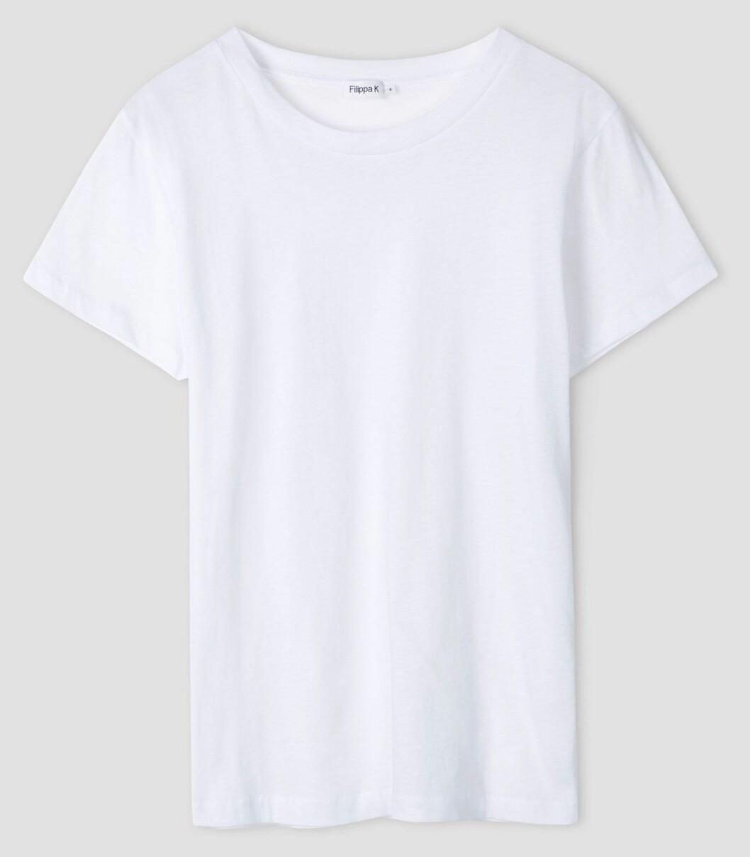 vit t-shirt från Filippa K.