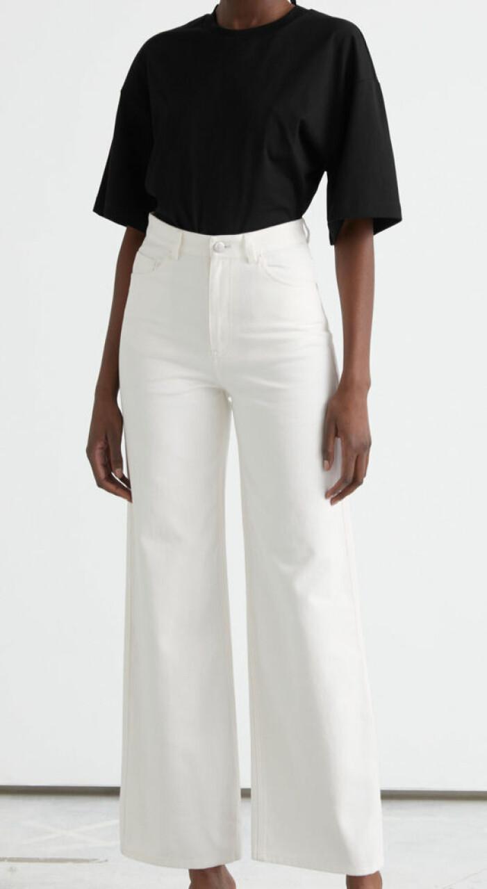 vida vita jeans med hög midja