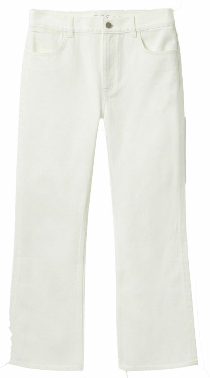 Vita jeans från Cos i rak modell