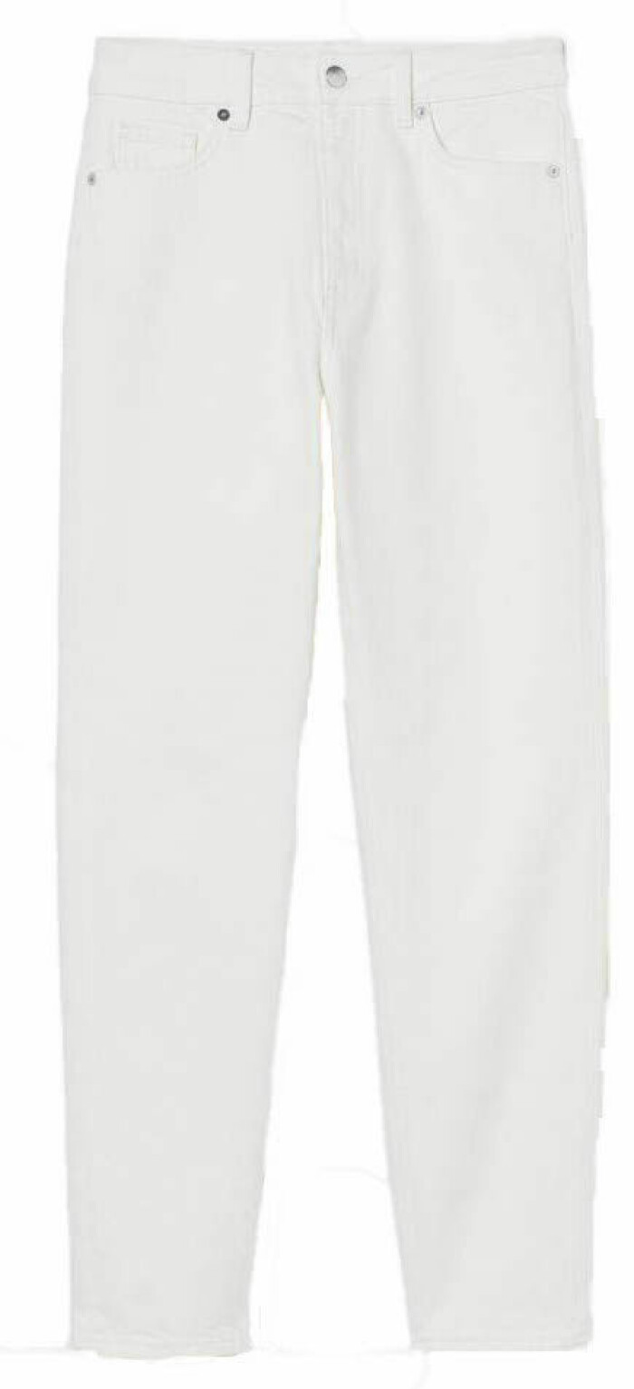 vita jeans från hm