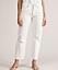 """Won Hundred erbjuder dessa vita jeans i """"mom jeans"""" modell där hög midja och något avsmalnande ben står i fokus."""