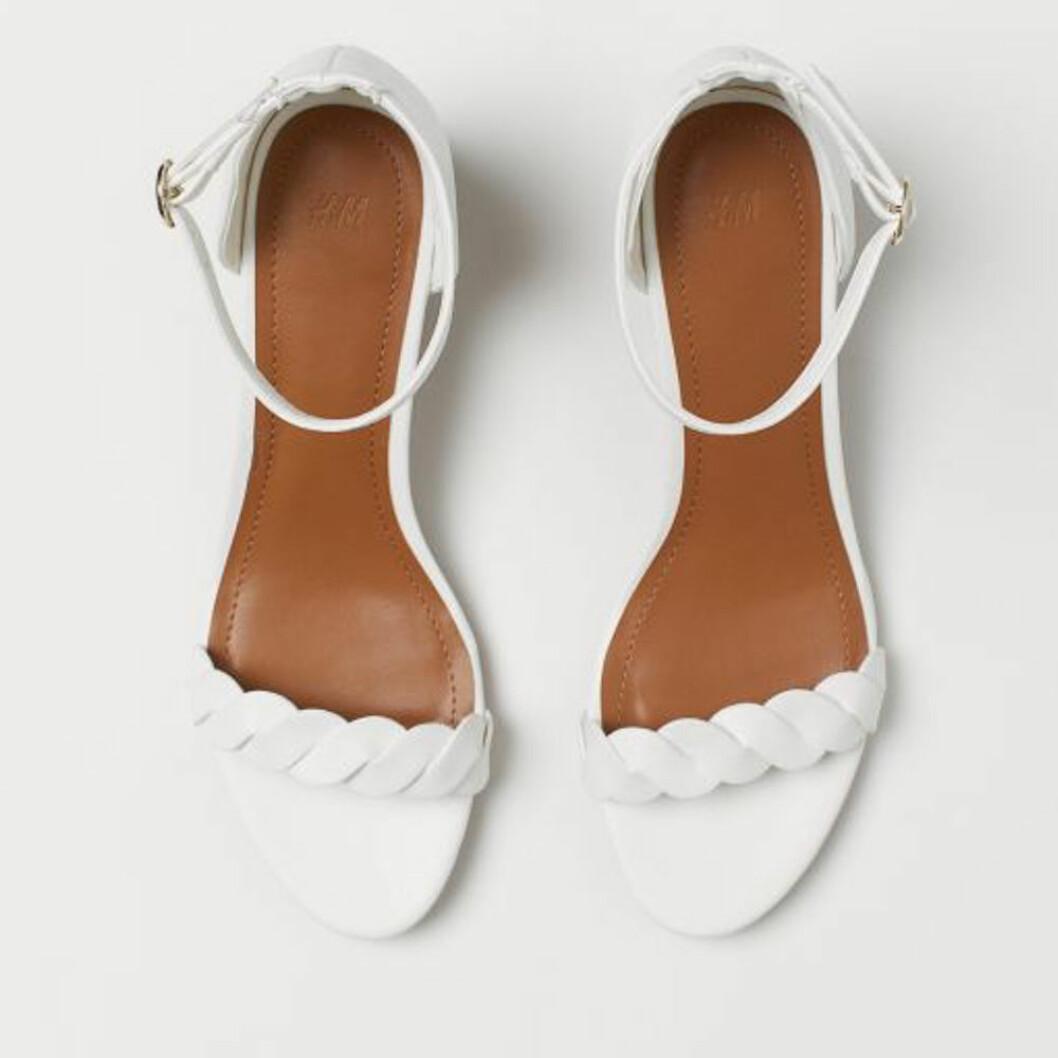 Vita klackskor från H&M