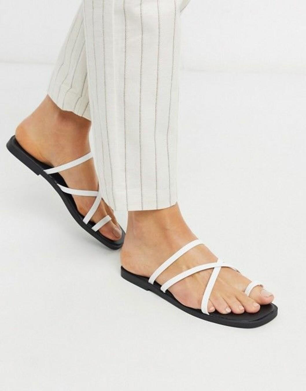 vita remsandaler från new look.