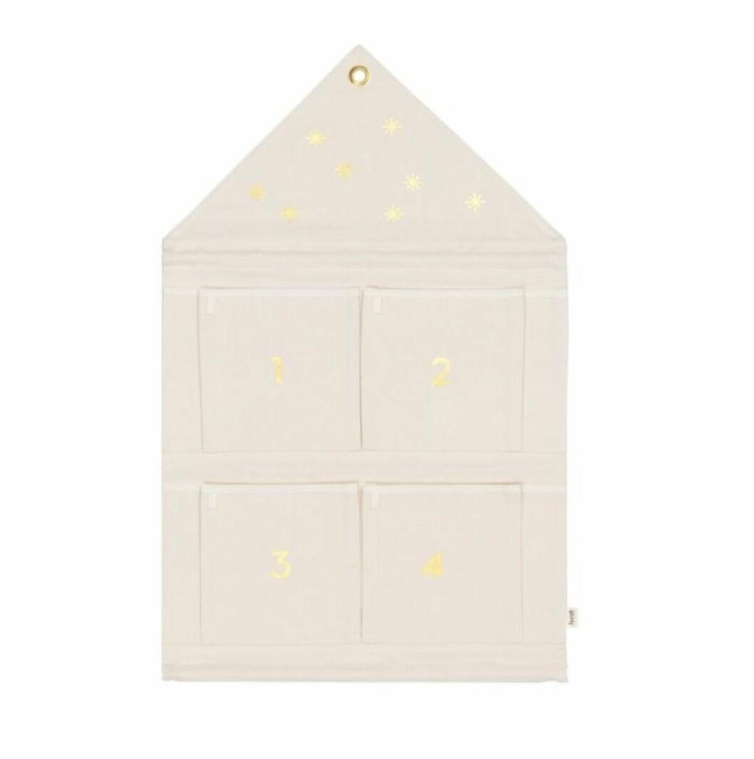 Adventskalender vitt hus