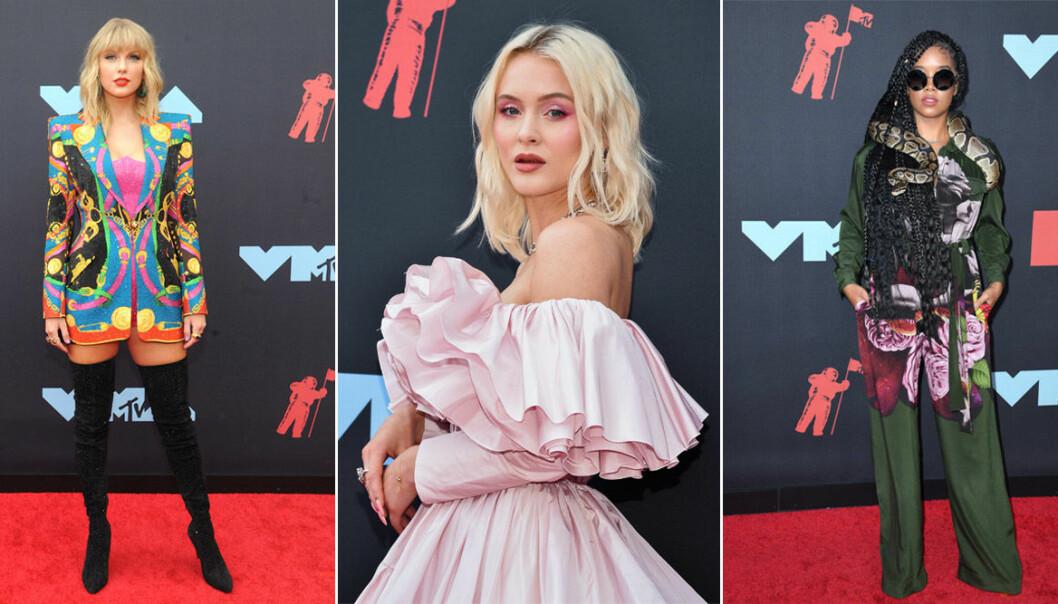 Röda matta VMA 2019