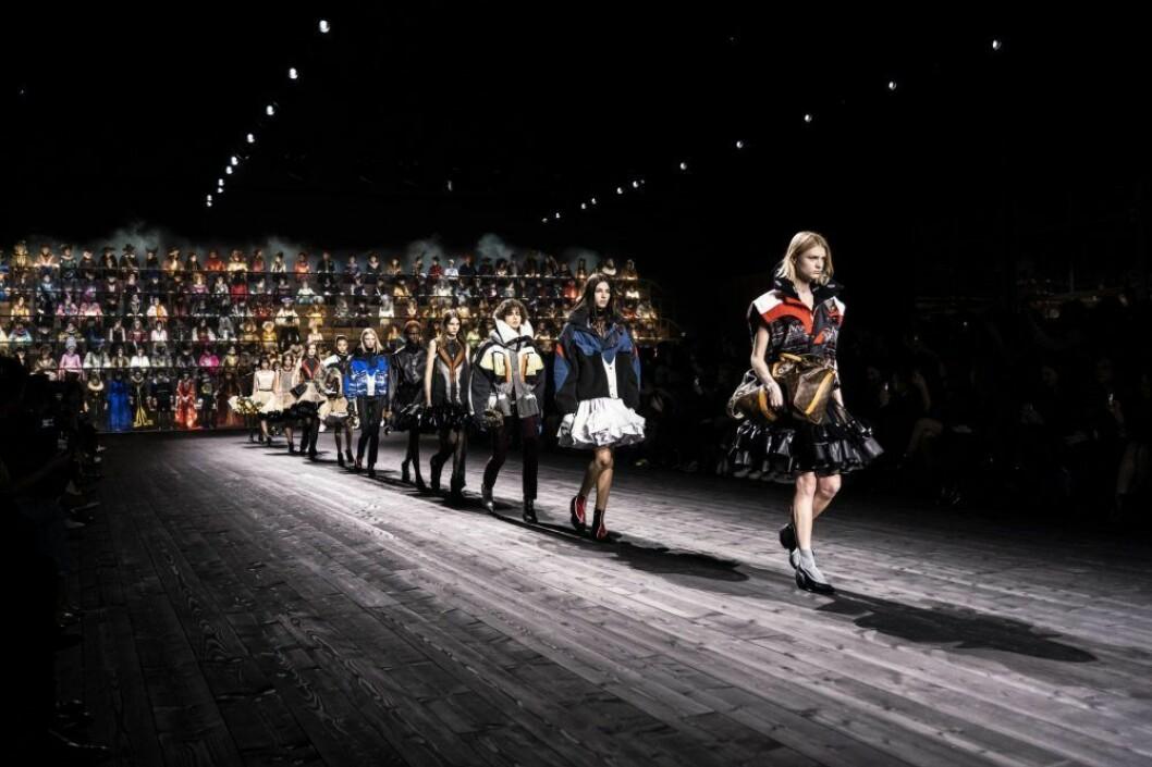 Louis Vuitton AW20-visning i Paris.