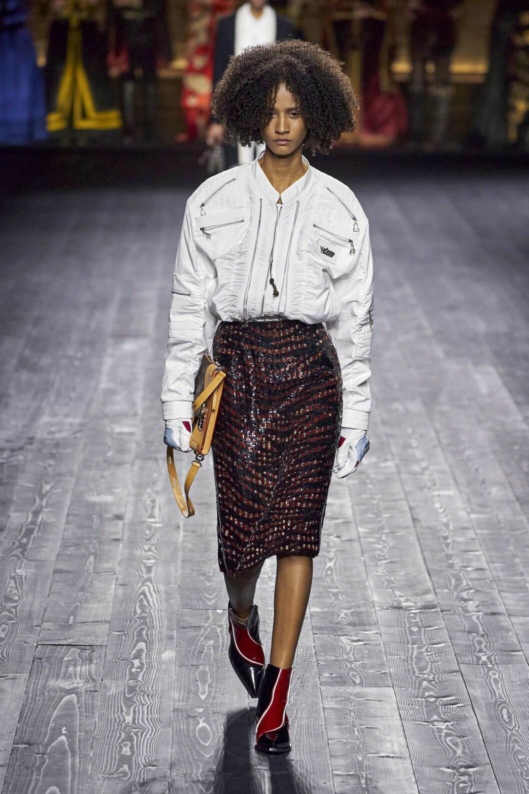 Louis Vuitton zebrakjol