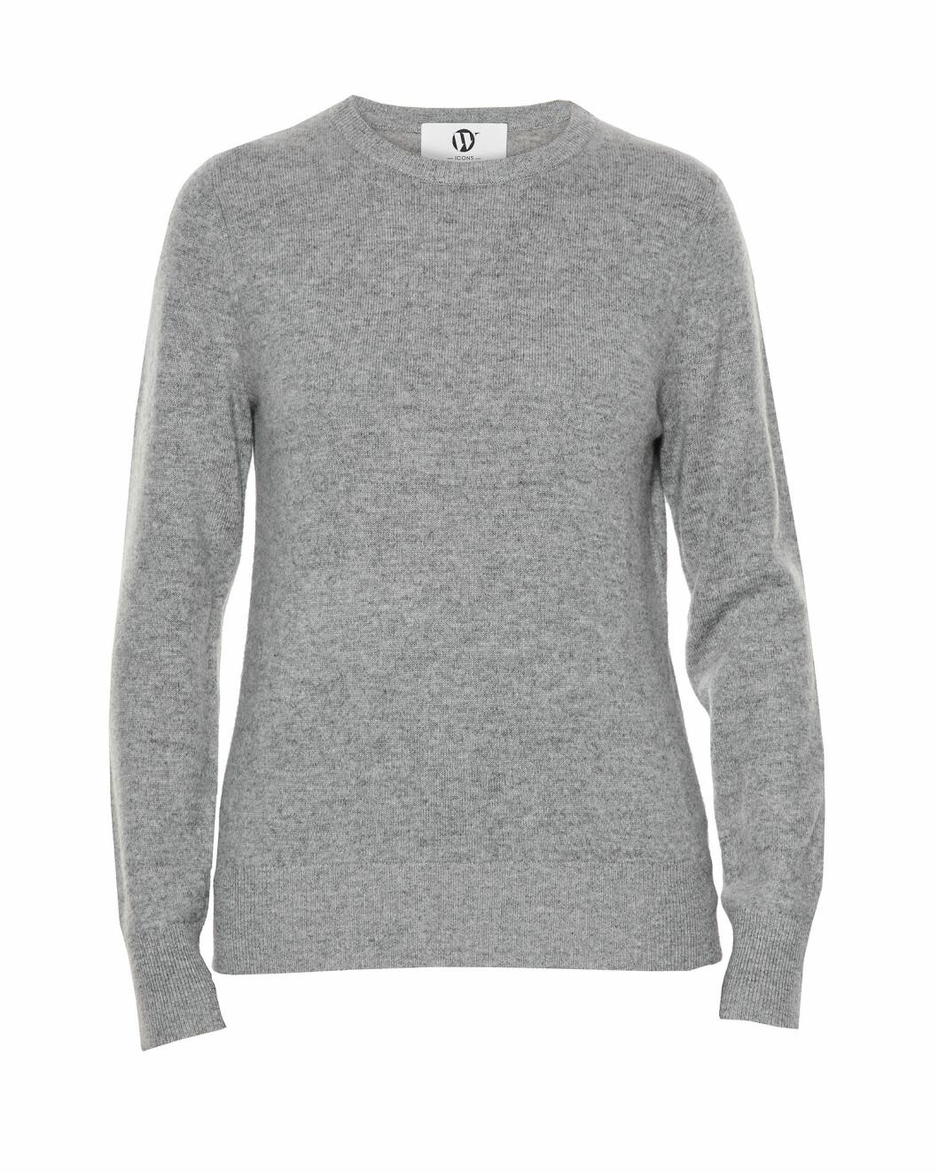Wakakuu Icons vårkollektion: Grå stickad tröja