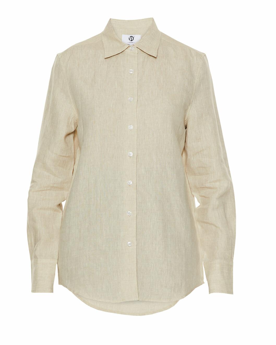 Wakakuu Icons vårkollektion: Beige linneskjorta