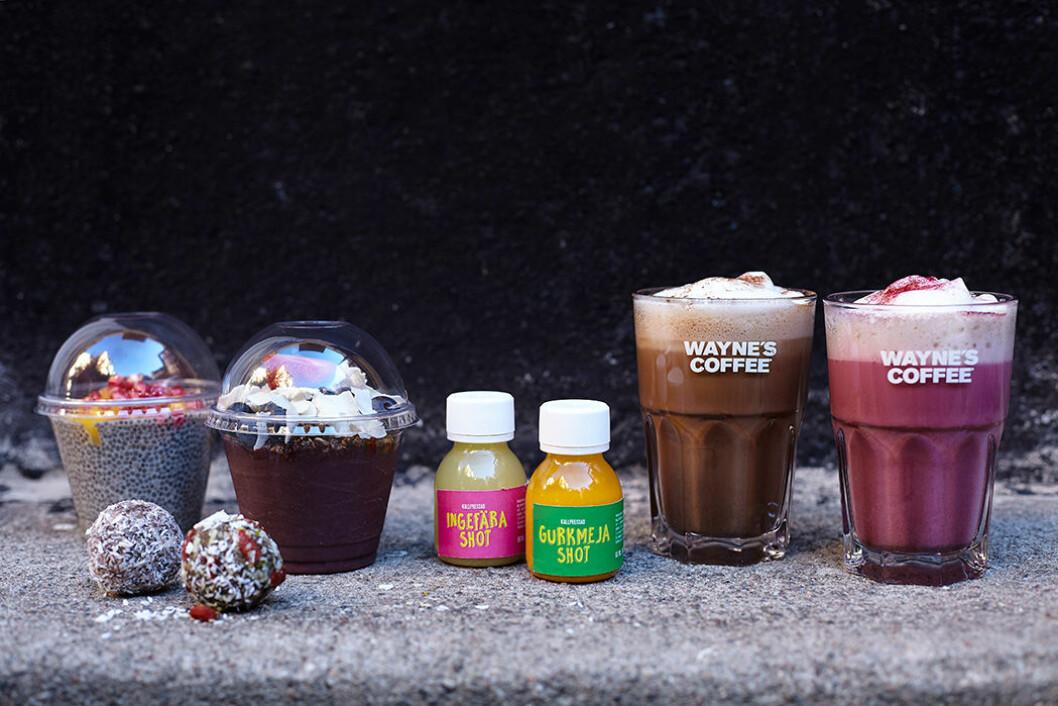 Wayne's Coffee lanserar veganska produkter.