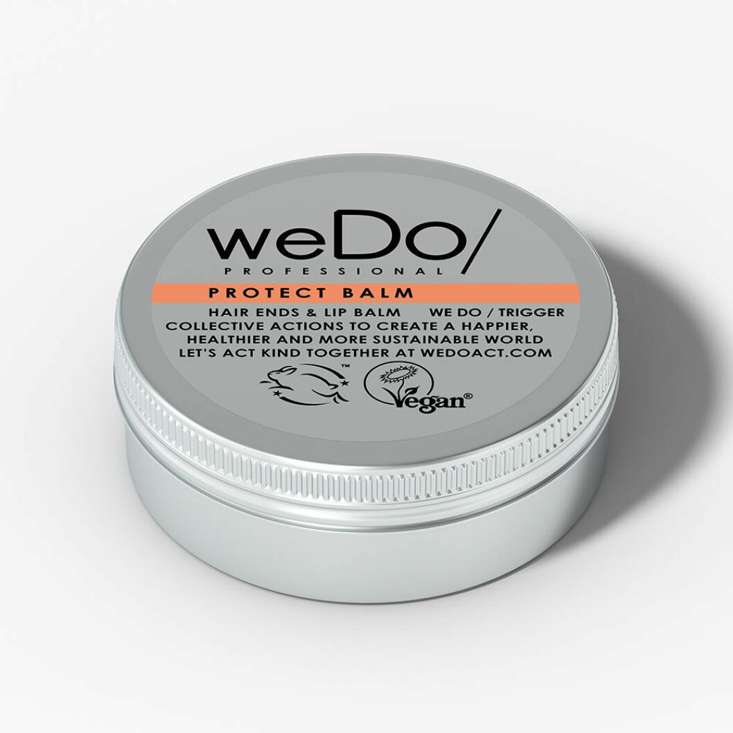 Återfuktande balsam för läpparna är Protect balm från WeDo