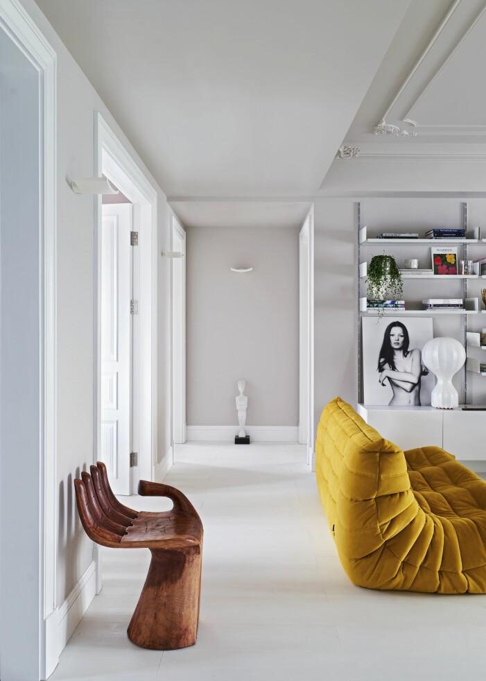Hemma hos designern Wenbin Lee i Wuhan soffa Ligne roset kate moss