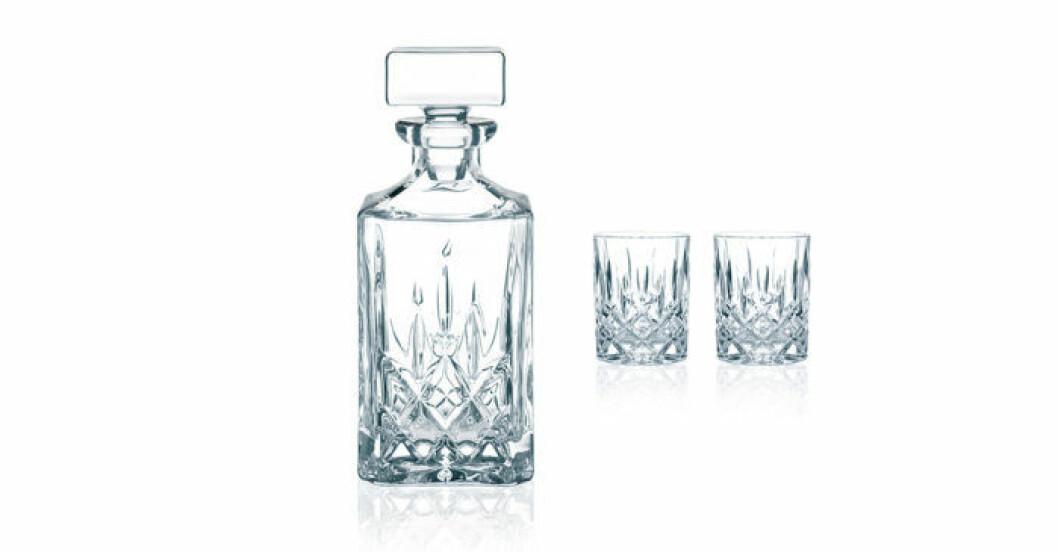 Snyggt whiskeyset från Nachtmann