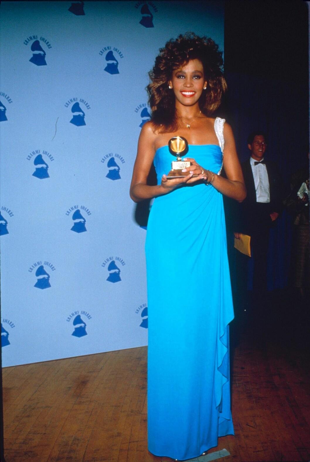 Whitney Houston på Grammisgalan 1986