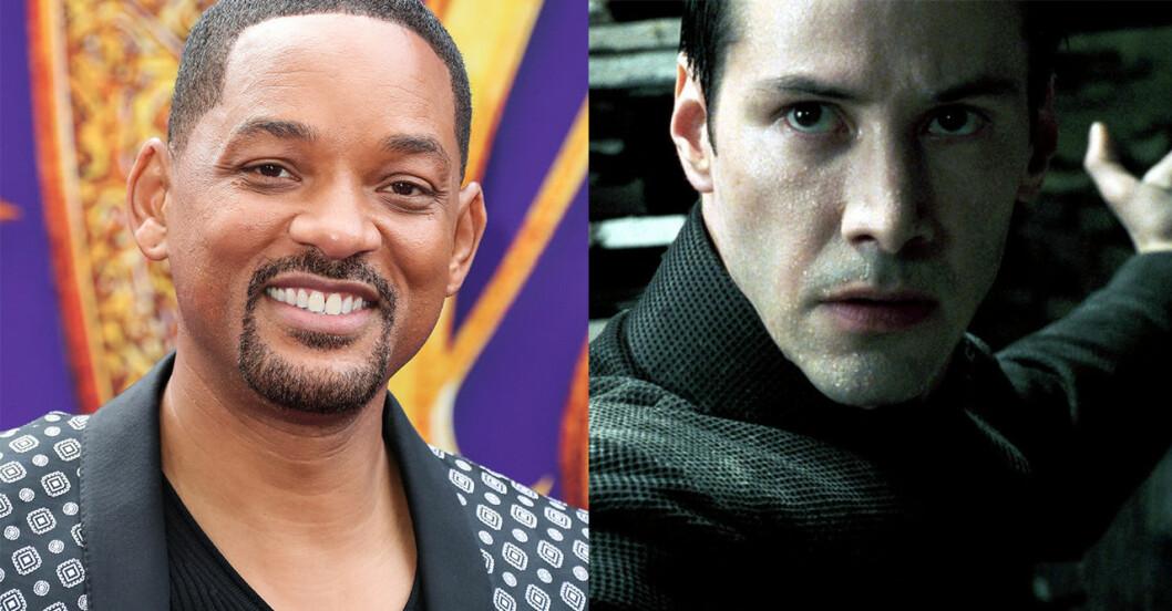 Will Smith – Neo i The Matrix och Django i Django Unchained