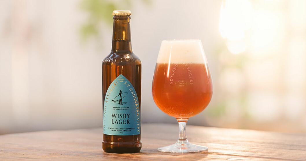 Gotlands Bryggeri lanserar sin första lager.