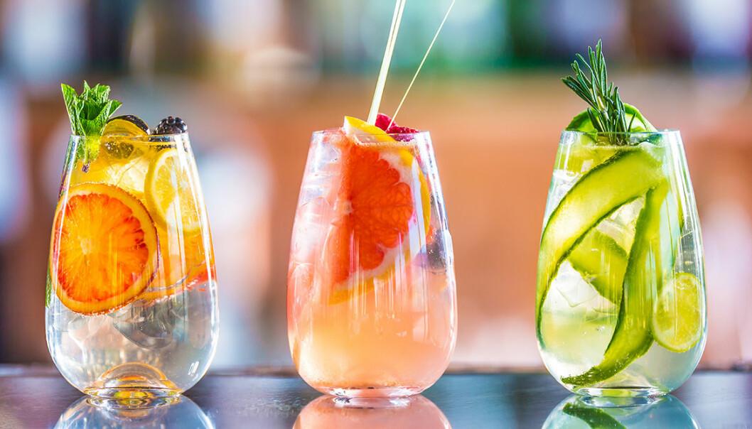 Uppdatera din Gin & Tonic med frukter och bär!