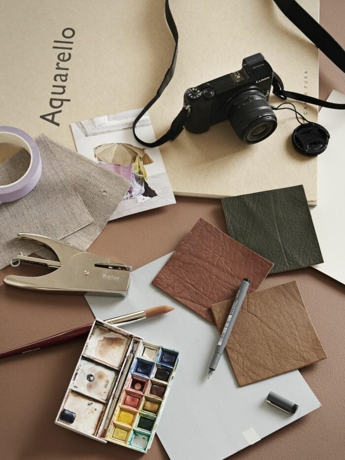 Hemma hos väskdesignern Yvonne Koné i Köpenhamn moodboard