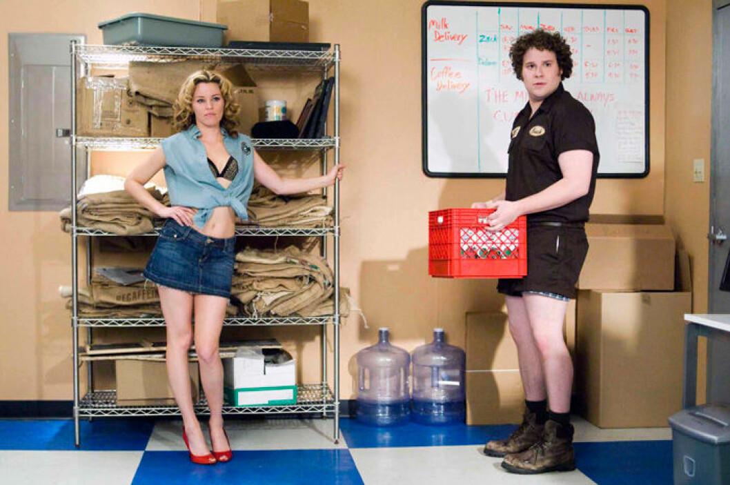 En bild från filmen Zack and Miri Make a Porno, som hade premiär 2008.