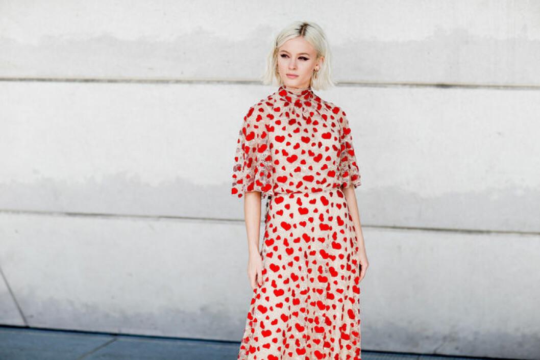 En bild på sångerskan Zara Larsson.