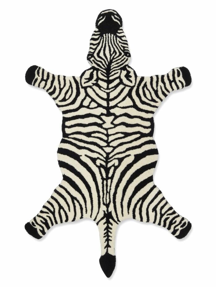 zebra matta från classic collection